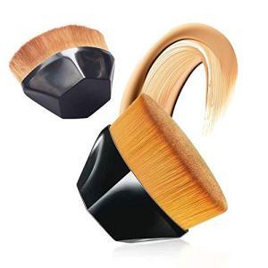 Alinice Makeup Brushes Premium Synthetic Foundation Powder Concealers Eye Shadows Makeup Brush(1 Pcs) (Black)