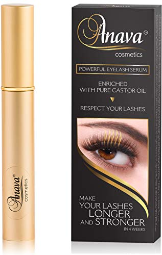 Eyelash Growth Serum - 6-Months Supply - All Natural Enhancing Treatment for Falling Thinning Lashes - Nourishing & Thickening Conditioner - Healthy Thick Long & Strong Lashes in 4-6 Weeks
