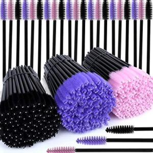 300 Pcs Disposable Mascara Wands, Teenitor Eyelash Brush Mascara Testers Makeup Applicators Kit For Thick Or Thin, Long Or Short Eye Lashes