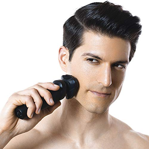 Electric Shaver Razor for Men,UICINOY Wet and Dry Metal IPX7 Waterproof Bundle Dimensions: 7.9 x 2.6 x 4.7 inches