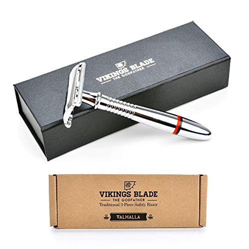 VIKINGS BLADE The Godfather Double Edge Safety Razor VIKINGS BLADE The Godfather Double Edge Safety Razor (Gentle & Mild).