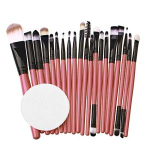 Winsummer Make up Brushes Set Beauty 20pcs Premium Cosmetic Makeup Brush Set for Foundation Blending Blush Concealer Eye Shadow Synthetic Fiber Bristles Makeup Brush Kit Tools