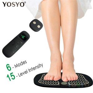 Foot Massager ABS Muscle Stimulator Remote Control Wireless Physiotherapy