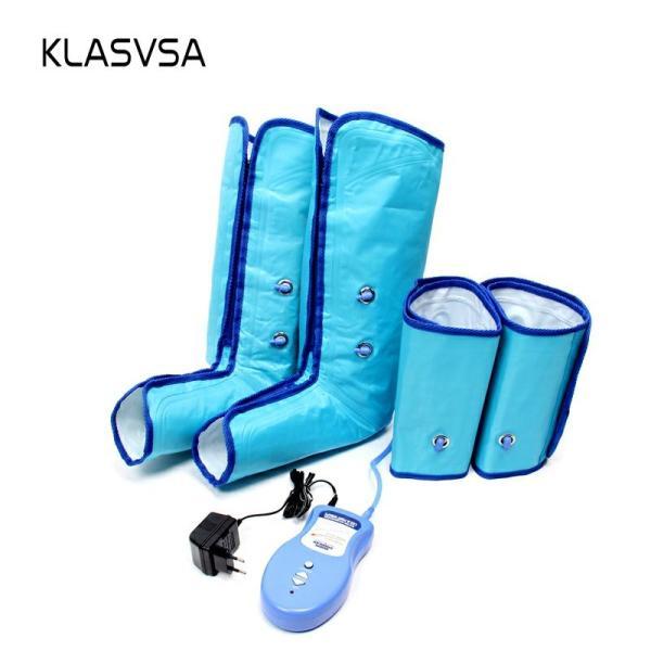 Air Compression Leg Foot Massager Wraps Regular Ankles