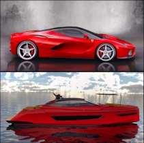 Ferrari LaFerrari superboat