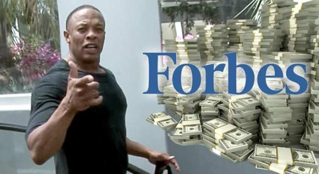 Forbes à Dr Dre : Pas si vite, tu n'es pas encore Milliardaire