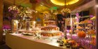 Un buffet aussi luxueux que l'hotel
