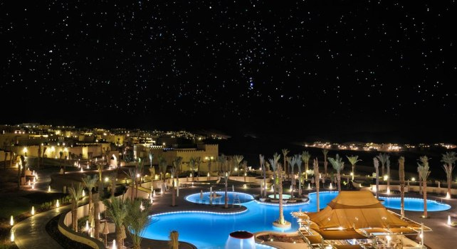 Anantara Qasr al Sarab Desert : L'hôtel des milles et une nuits