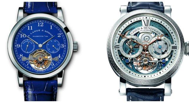 Grieb & Benzinger Blue Merit : Hommage à la manufacture A. Lange & Söhne