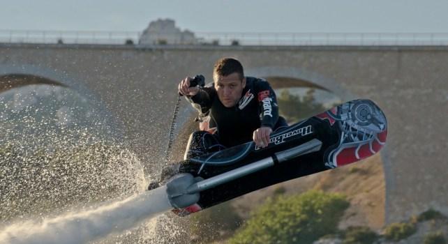 Hoverboard by Zapata Racing : Une planche pour des sensations fortes