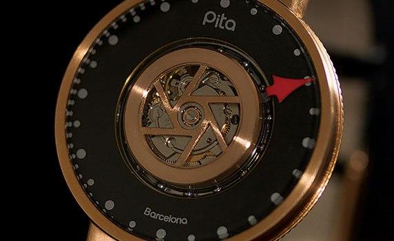 Pita Barcelona Carousel : Une montre au regard novateur