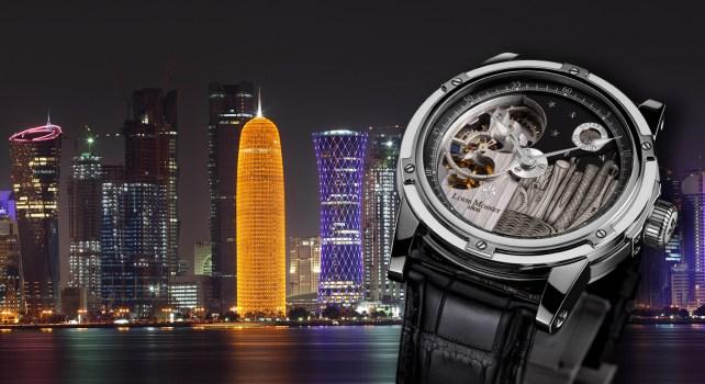 Louis Moinet Mecanograph Qatar : Une exclusivité en hommage à Doha