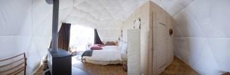 Whitepod - Interior pod