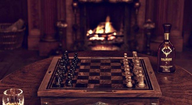 Holland & Holland : Une collaboration avec The Dalmore pour un jeu d'échecs