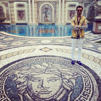 Lord Disick Versace