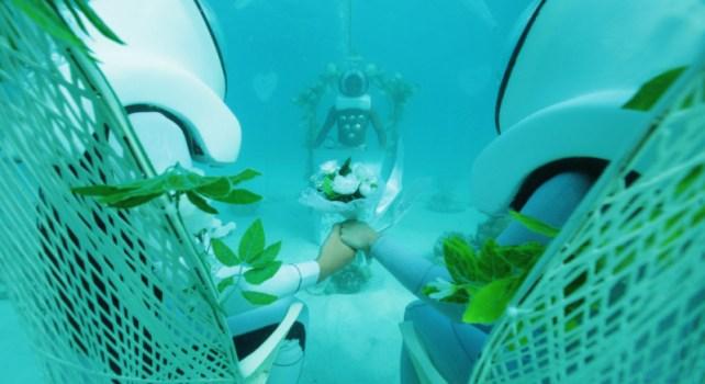 Bora Bora Underwater Wedding : Mariez-vous sous l'océan