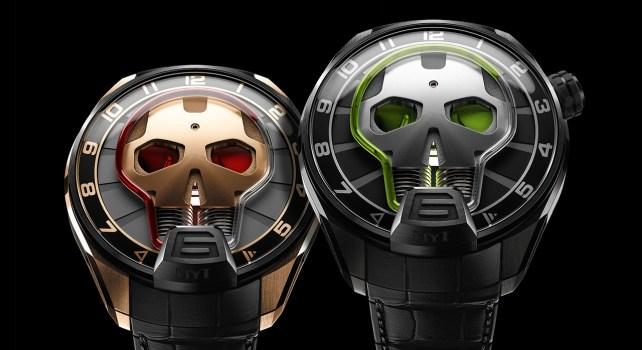 HYT Skull Eye : Regardez le temps s'écouler devant vous