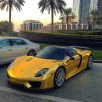 Porsche-918-Gold-Chrome-3