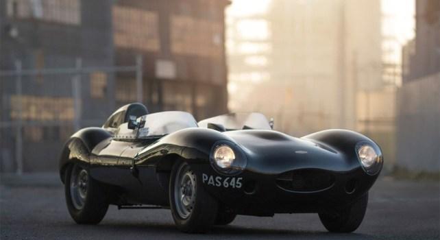 Jaguar D-Type : Un modèle très rare de 1955 va être vendu aux enchères
