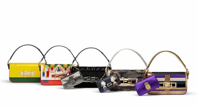 Fendi 3Baguette : Des sacs à main dessinés par des célébrités