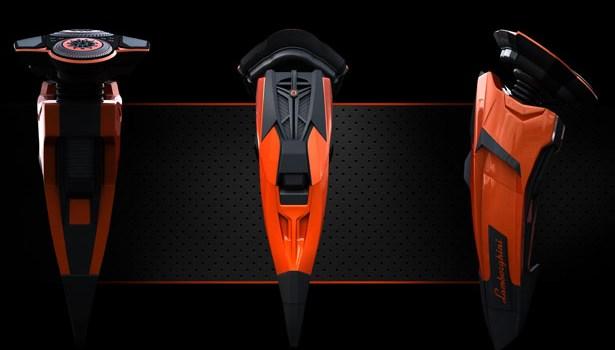 Lamborghini Aventador Electric Shaver Concept : Un rasoir inspiré par le bolide Italien
