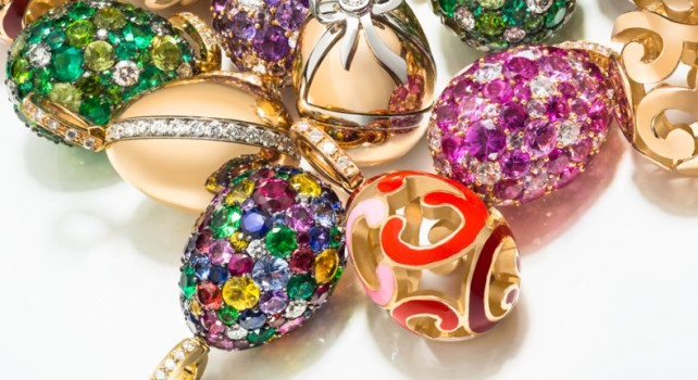 Fabergé Charms Eggs : La nouvelle collection miniature