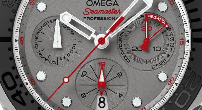 Omega Seamaster Diver 300M Co-Axial Chronograph ETNZ : Une montre pour sponsoriser l'America's Cup 2015