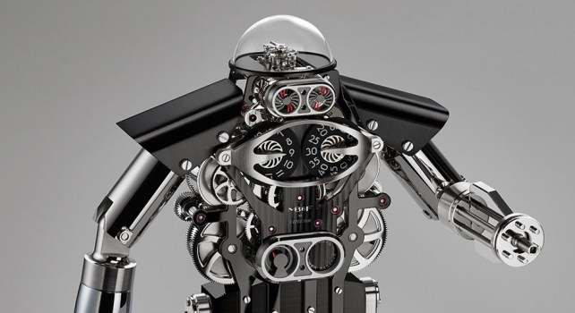 MB&F Melchior : Un robot horloge digne des plus grandes montres