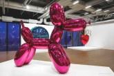 balloon dog purple paris