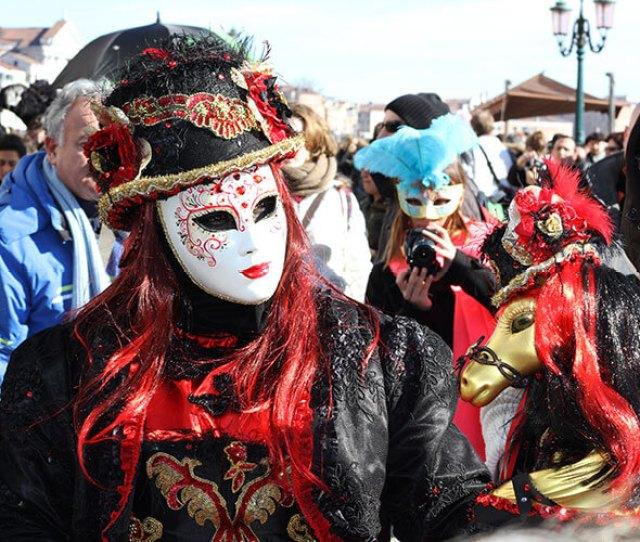 The White Batua Venice Carnival Mask