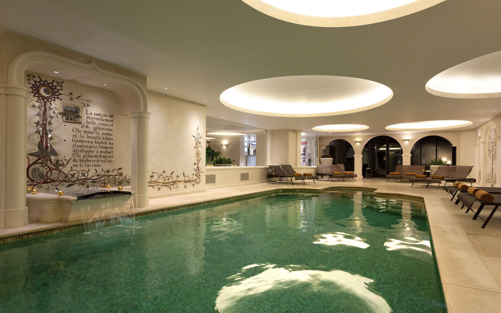Messardiere spa pool