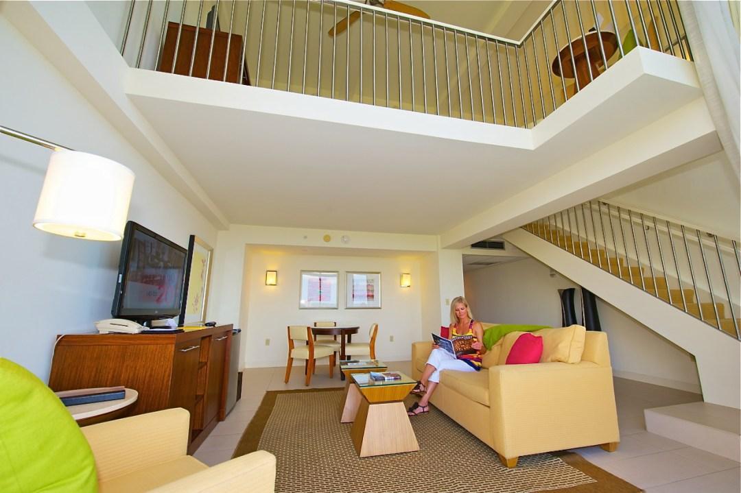 Hyatt's Bi-Level Suites offer a stunning view of Sarasota.  (c) Dale Sanders - DaleSandersPhotos.PhotoShelter.com