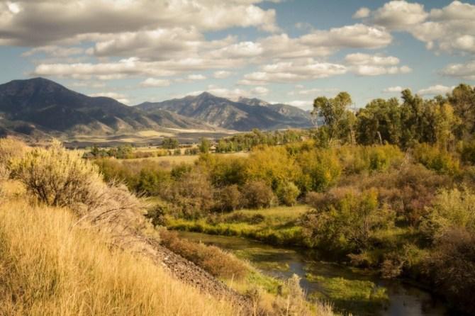 Tetons area Landscape