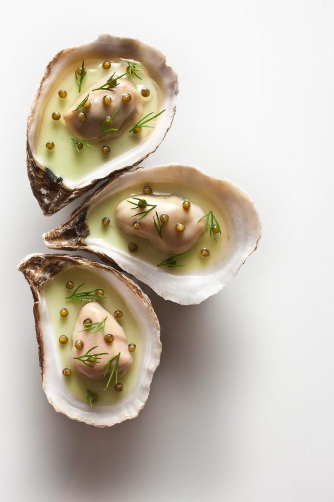 Oyster Vichyssoise Courtesy of Francesco Tonelli