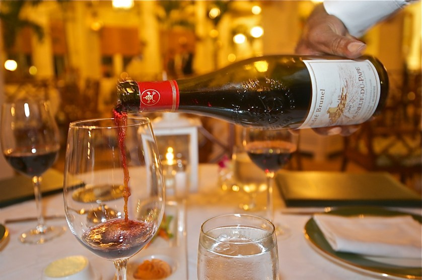 A long and legendary list of the best wines awaits guests at the Inn's main dining room.