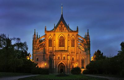 St. Barbara's Church in Kutna Hora - Photo Czech Tourism