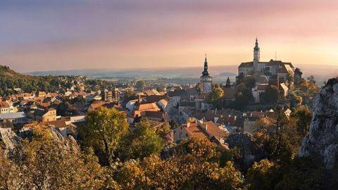 Mikulov of the Czech Lednice-Valtice Landscape Complex, a UNESCO World Heritage Site - Photo Czech Tourism