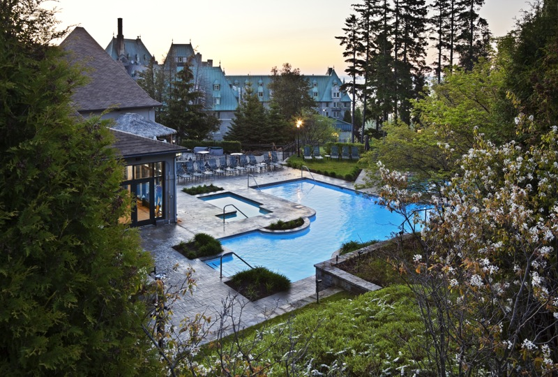 Fairmont Le Manoir Richelieu—From Wood to Concrete, Elegant Luxury Always