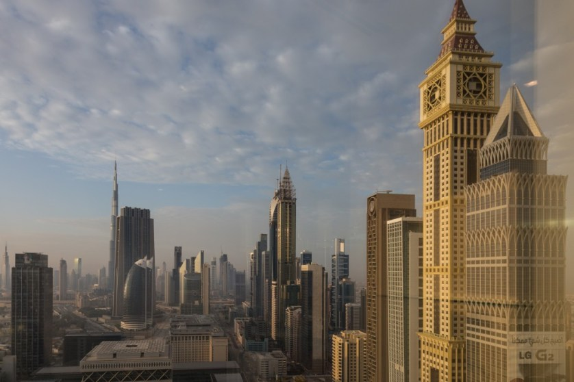 View from the Jumeriah Hotel