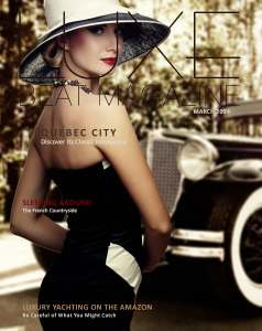 Luxe Beat Magazine March 2014 Edition Cover
