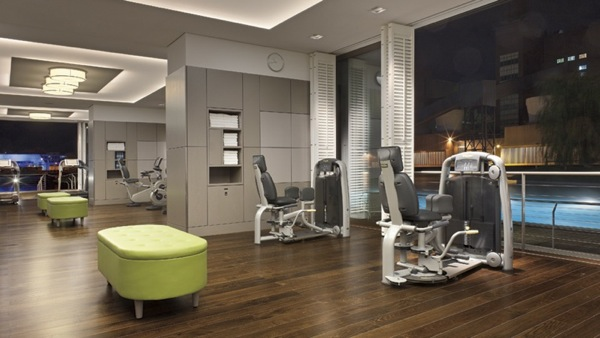 Ritz-Carlton Exercise Area
