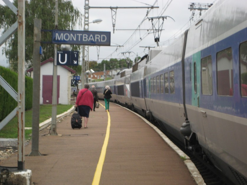 Montbard Train Station