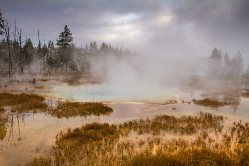 The mystical landscape of Yellowstone