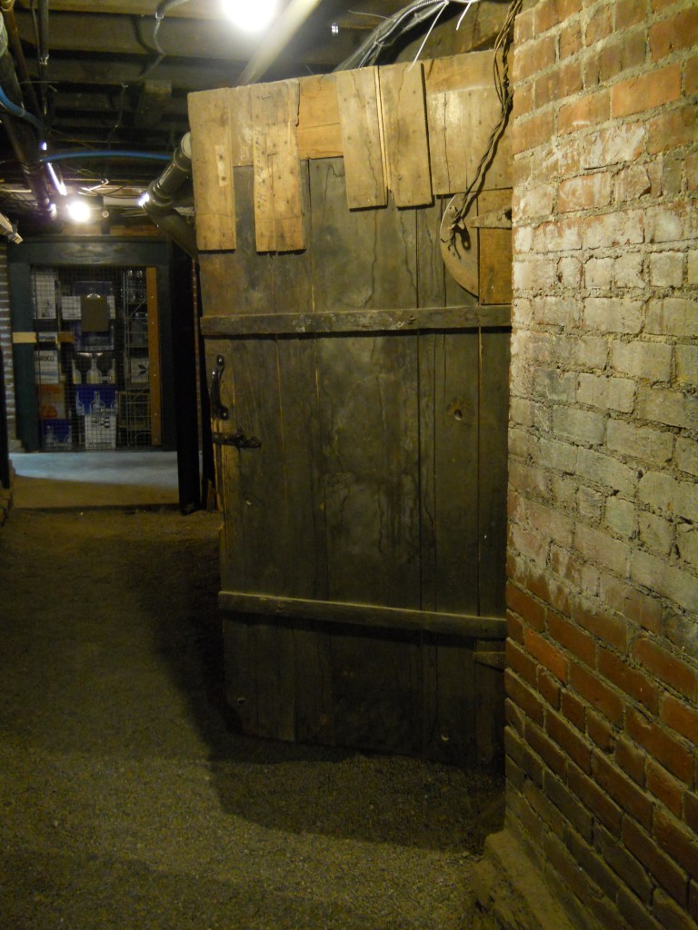 Door to Underground Railroad Courtesy of Slippery Noodle Inn
