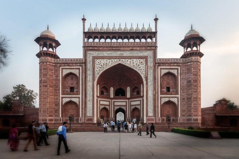 Gateway to the Taj