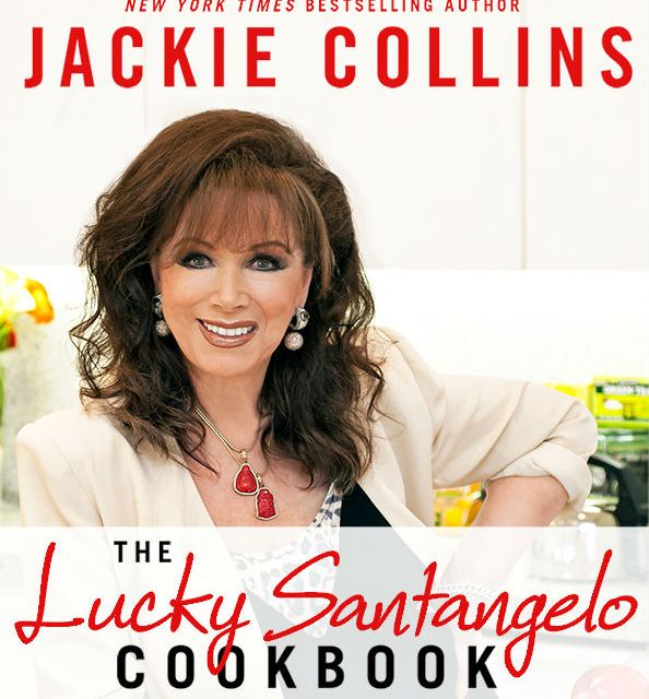 Jackie Collins Gets Lucky with Wolfgang Puck