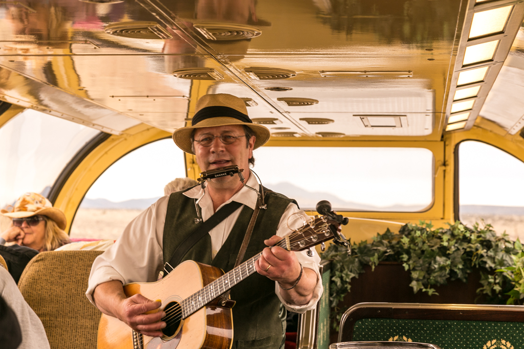 Music on Grand Canyon Railroad