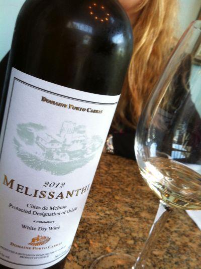 Melissanthi wine
