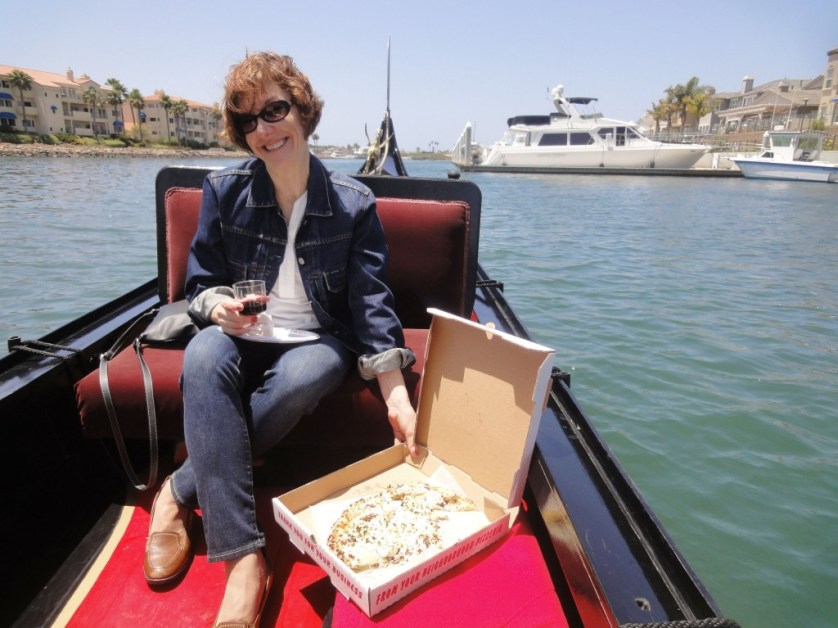 Order a lunch and wine for the Gondola ride at Channel Island Harbor. Photo by Allan Kissam