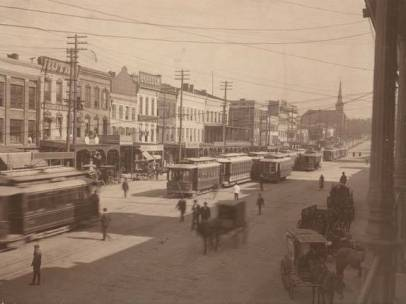 "Montgomery Bus Walkout 1906 Resulting in ""Negros in Back"" Ordinance - Source: digital.archives.alabama.gov"